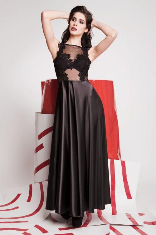 Платье 01-70 черный