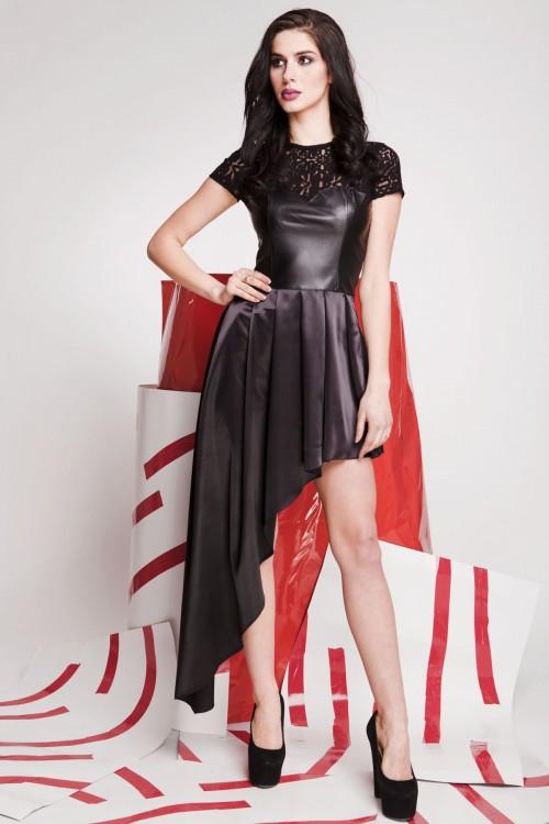 Платье 01-69 черный