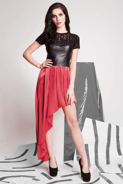 Платье 01-69 красный