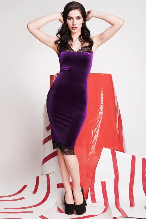 Платье 01-57 фиолетовый