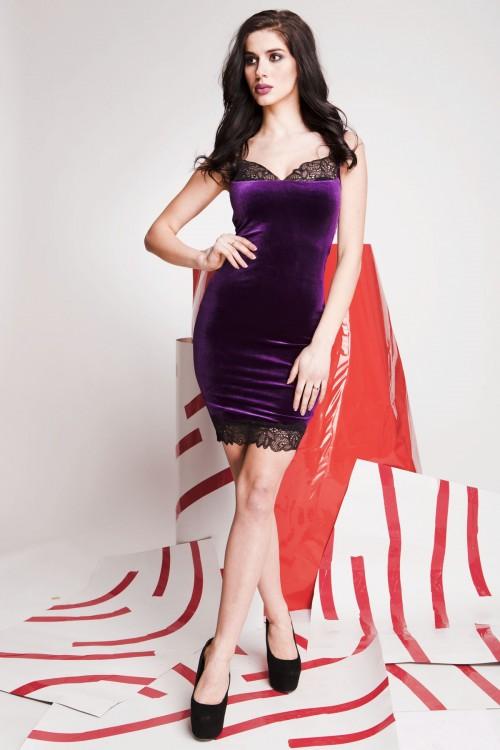 Платье 01-58 фиолетовый