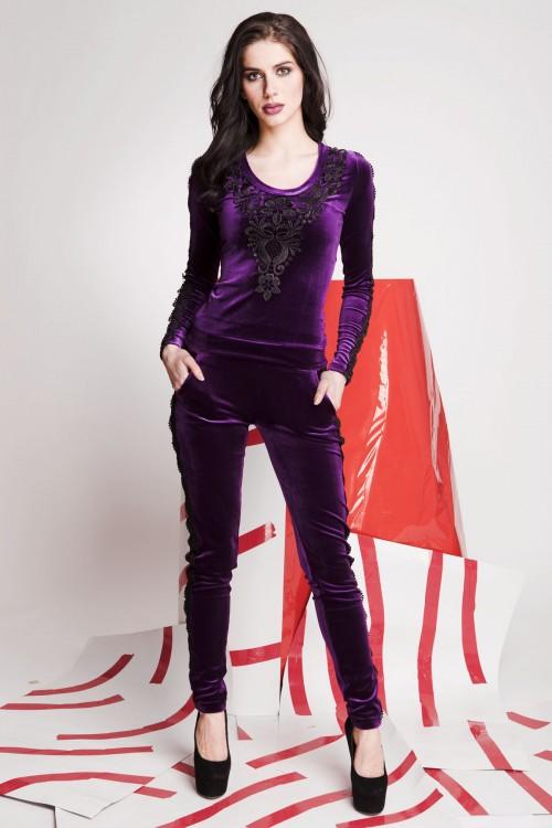 Костюм 01-77 фиолетовый