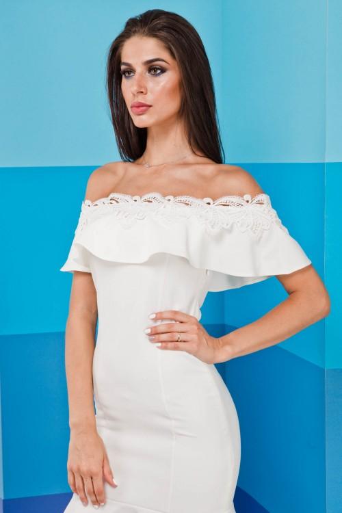 Платье 02-21 белый