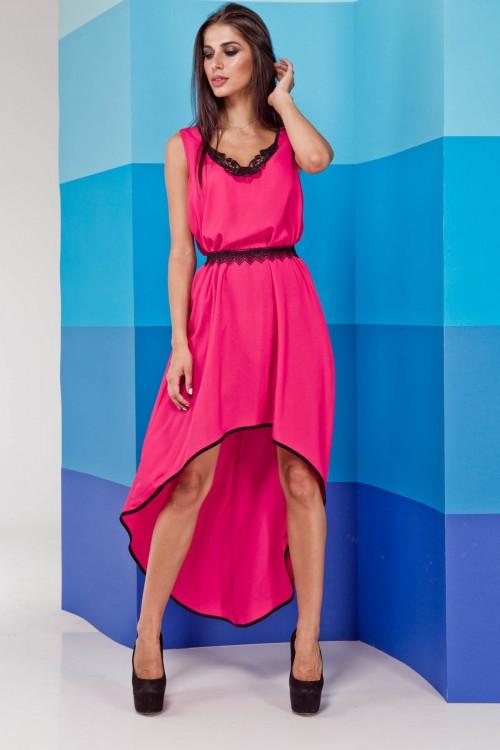 Платье 02-23 розовый