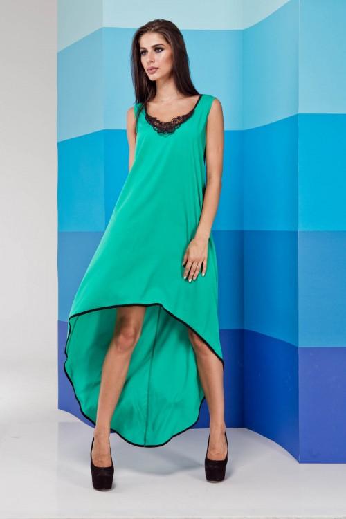 Платье 02-23 бирюза