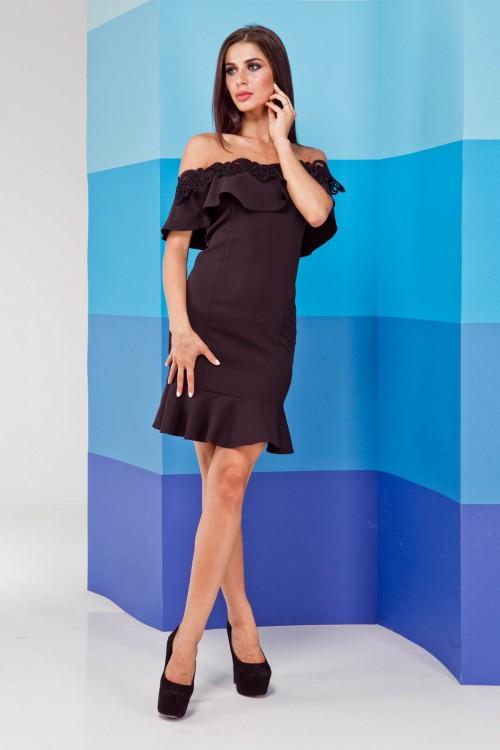 Платье 02-21 черный