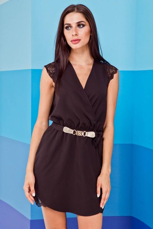 Платье 02-10 черный