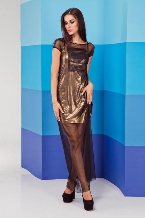 Платье 02-01 золото