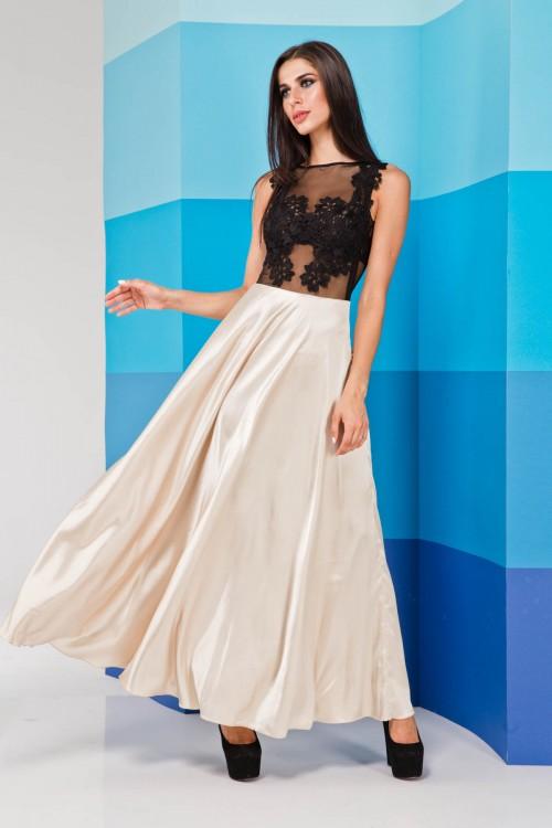 Платье 01-70 молоко