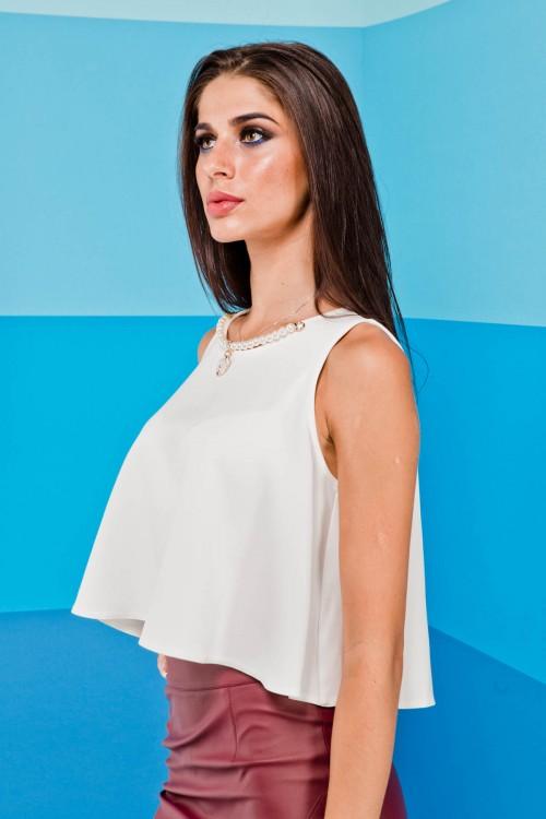 Блузка 01-97 белый