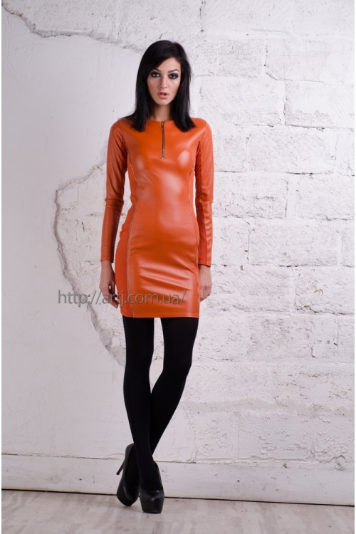 Платье 3154 коричневый