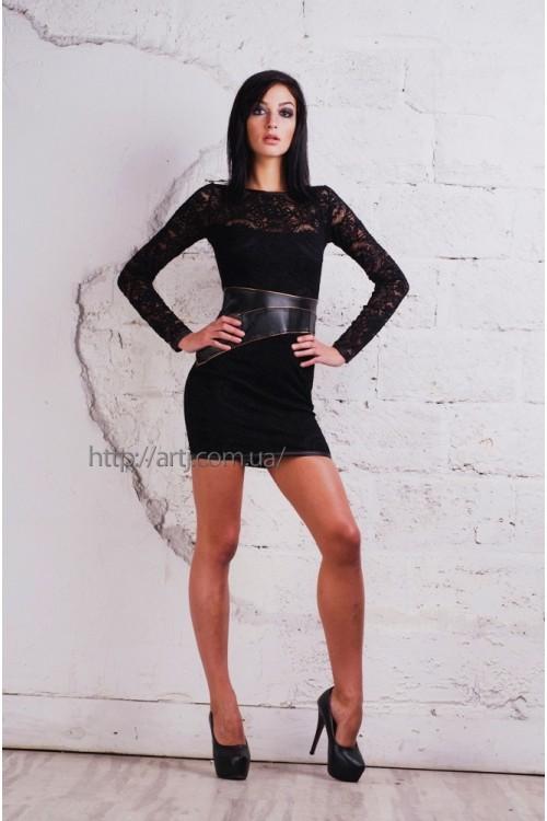 Платье 3185 черный
