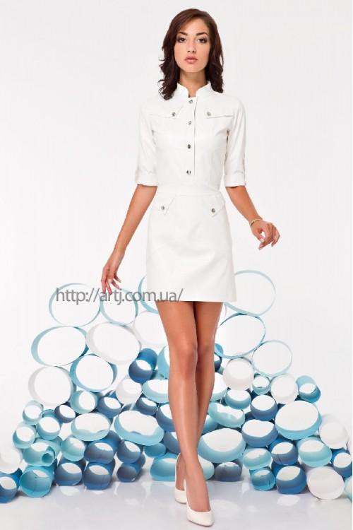 Платье 3230 белый