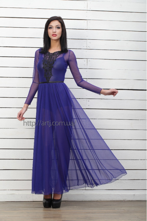 Платье 3194 электрик