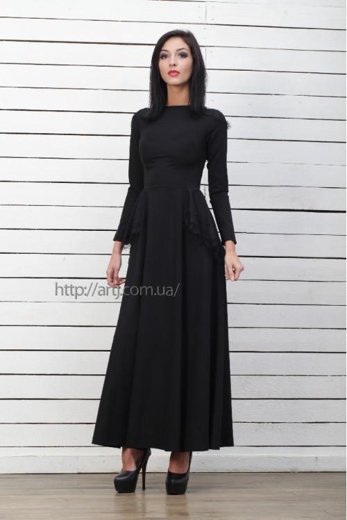 Платье 3221 черный