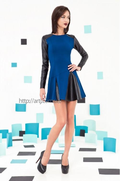 Платье 3220 синий