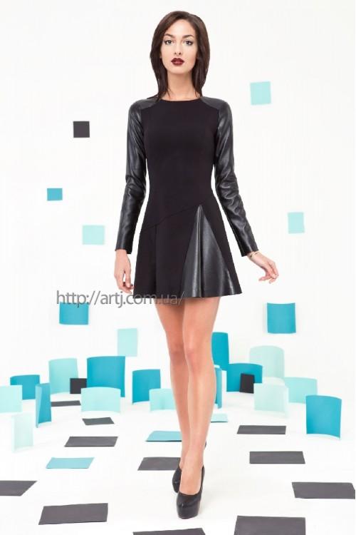 Платье 3220 черный