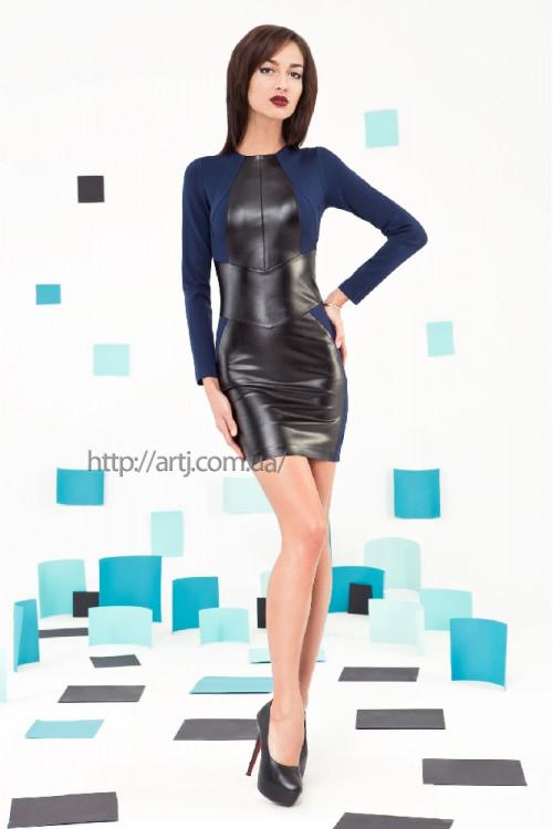 Платье 3219 синий