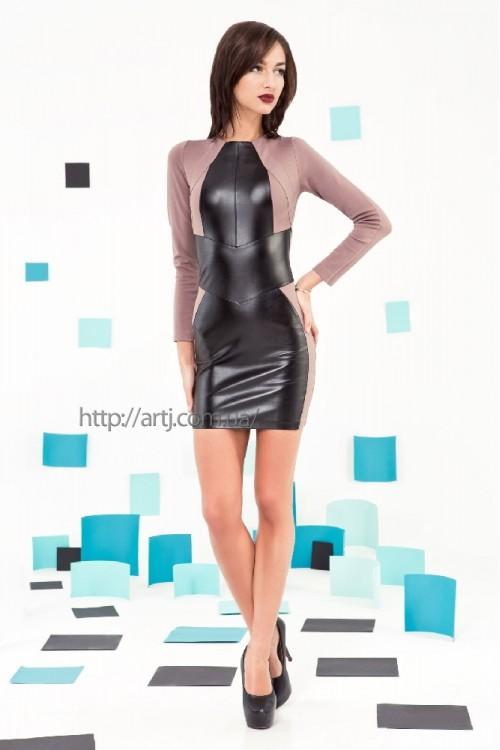 Платье 3219 беж