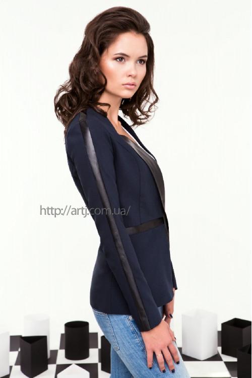 Пиджак 2068 темно серый