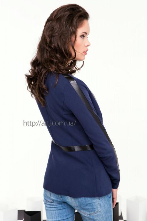 Пиджак 2068 темно синий