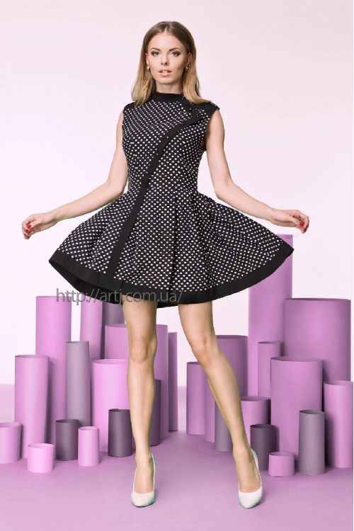 Платье 3206 черное