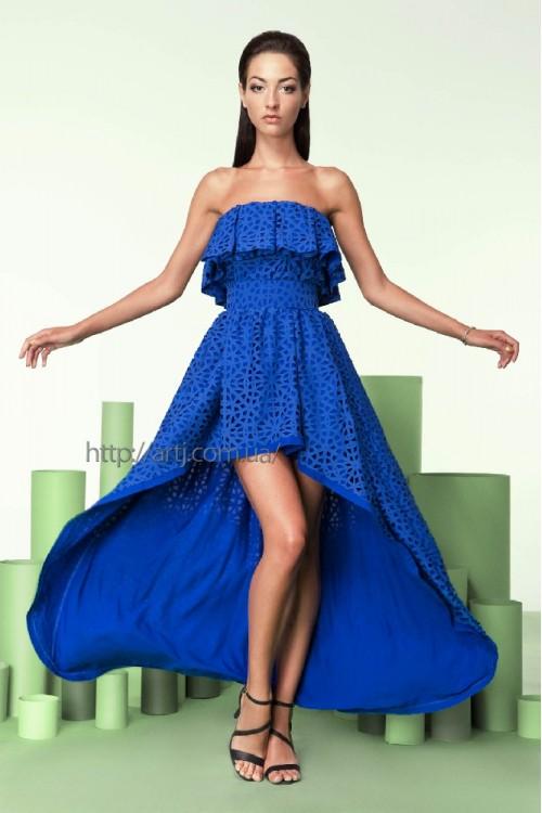Платье 3209 синее