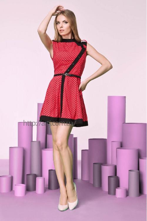 Платье 3206 коралл