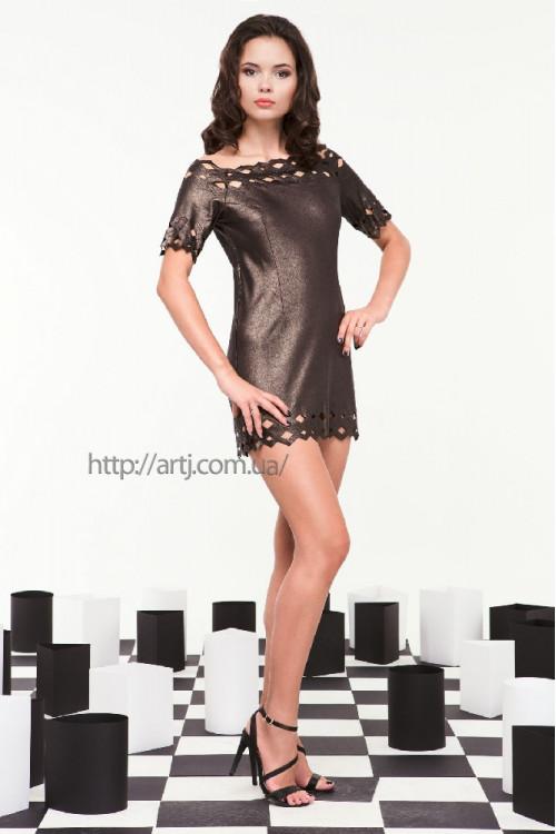 Платье 3251 бронза