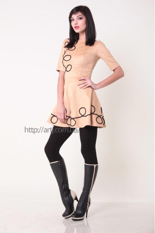 Платье 3224 беж