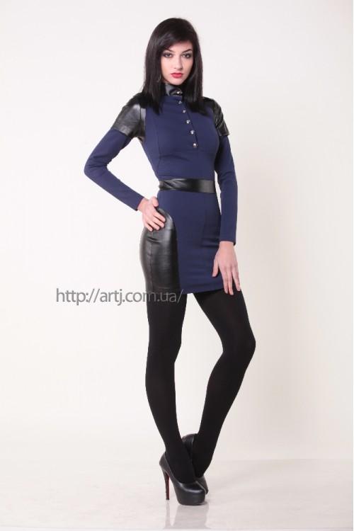 Платье 3223 синий