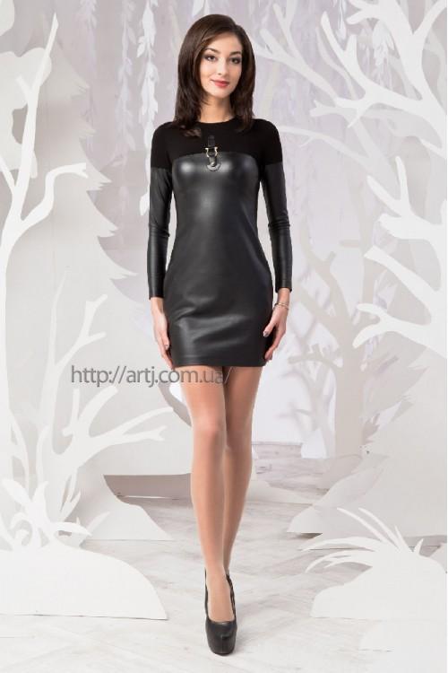 Платье 49-00 черный