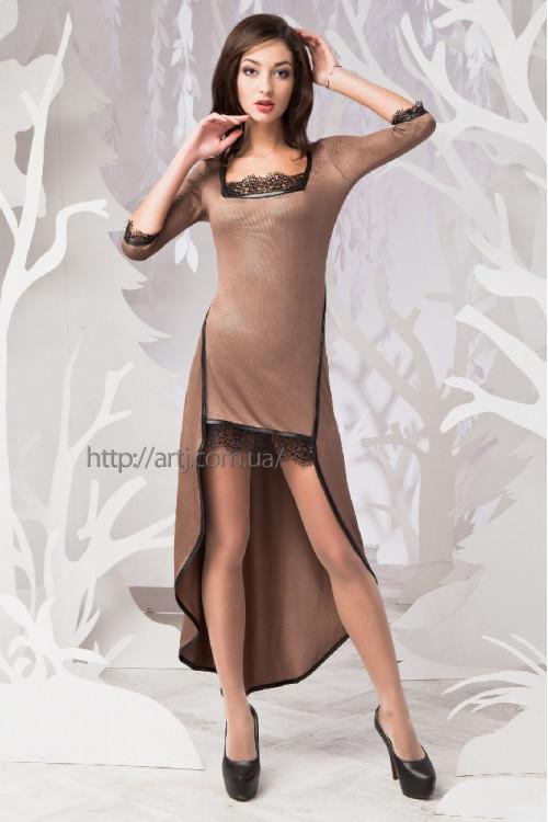 Платье 3267 кофейный