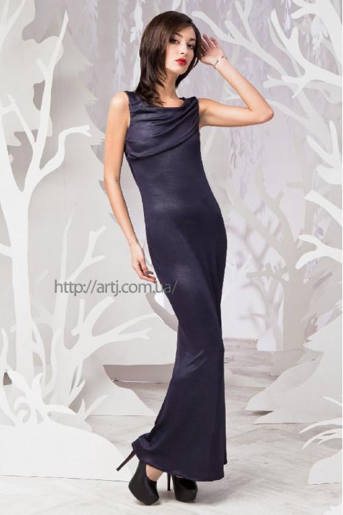 Платье 3269 синий