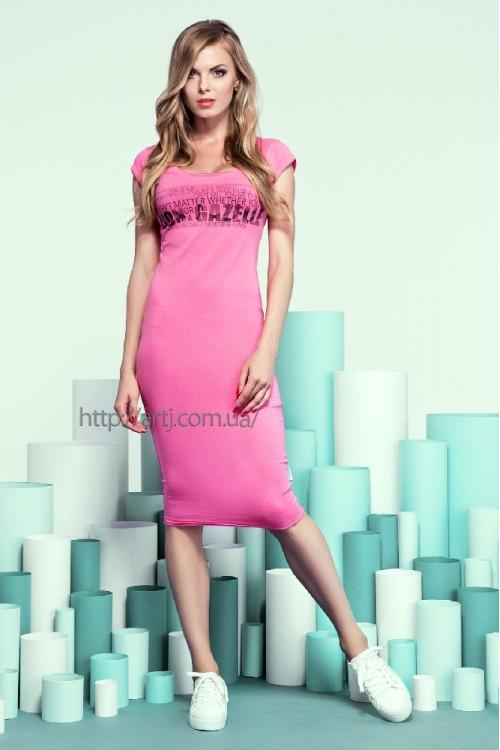 Платье 13-38 розовое