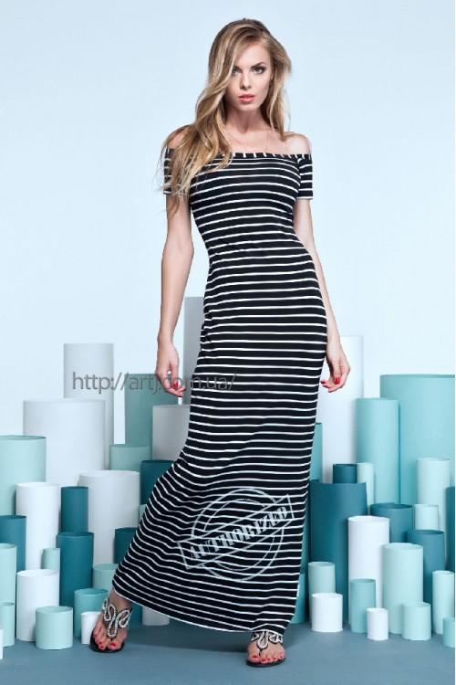 Платье 14-41 темно-синее