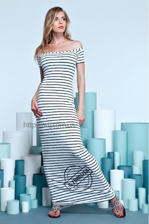 Платье 14-41 белое