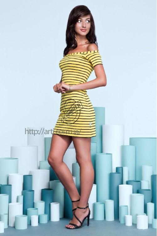 Платье 15-41 желтое