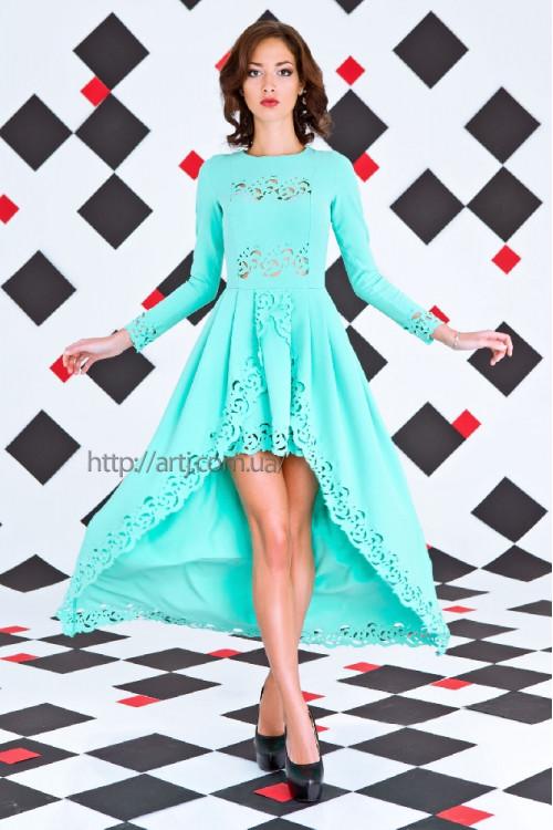 Платье 3253 ментол