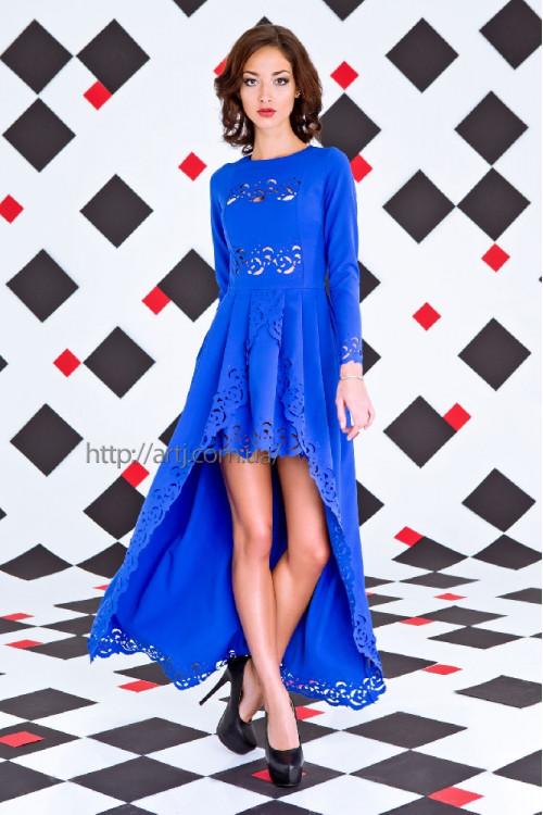 Платье 3253 электрик