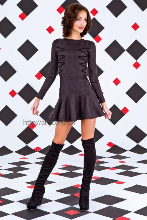 Платье 3225 черный