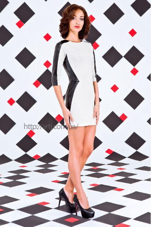 Платье 3015 белый
