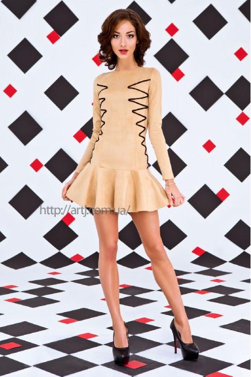 Платье 3225 беж