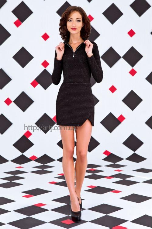 Платье 3261 черный