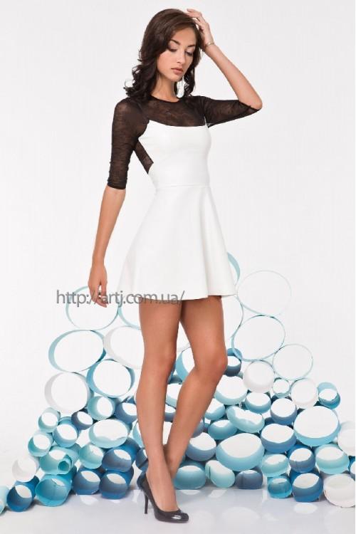 Платье 3229 белый