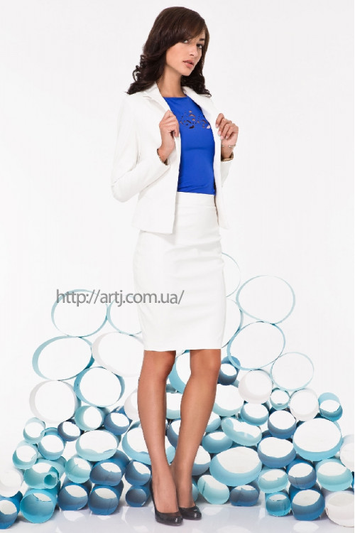 Пиджак 2061 белый