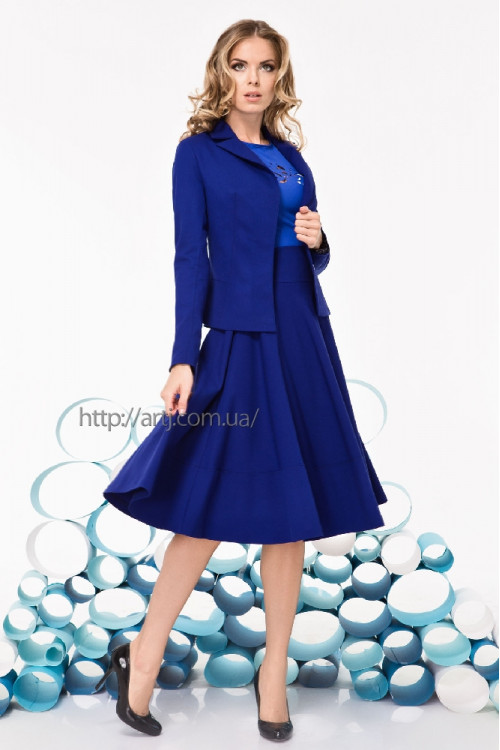 синий пиджак женский