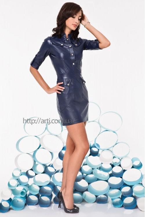 Платье 3230 синий