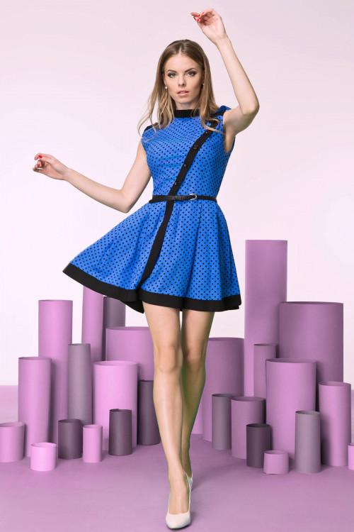Платье 3206 синее