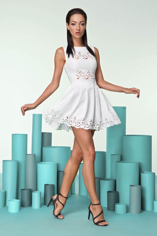 Платье 3242-1 молоко